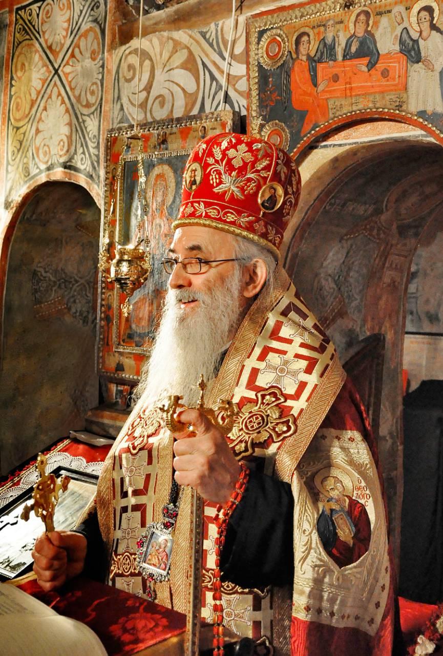 Његово Преосвештенство Епископ ваљевски Г. МИЛУТИН (Кнежевић)
