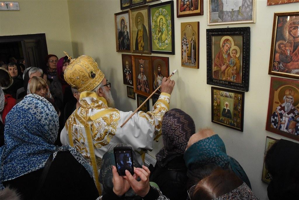 Освећена обновљена капела Светог Симеона мироточивог у старом конаку манастира Боговађа