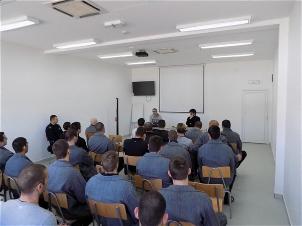 Предавање у Казнено – поправном заводу