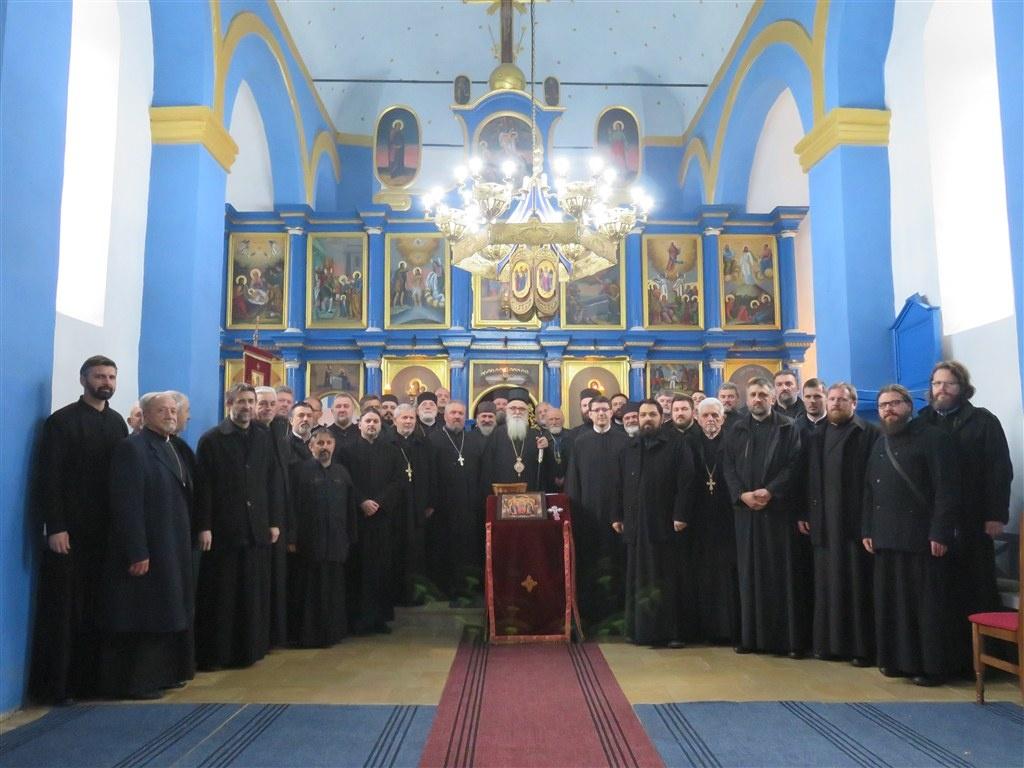 Исповест свештенства Архијерејског намесништва првог и другог ваљевског