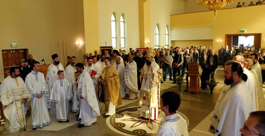 Преносимо: Велики Васкршњи сабор – Манастир Светог Саве Канбера – ВИДЕО