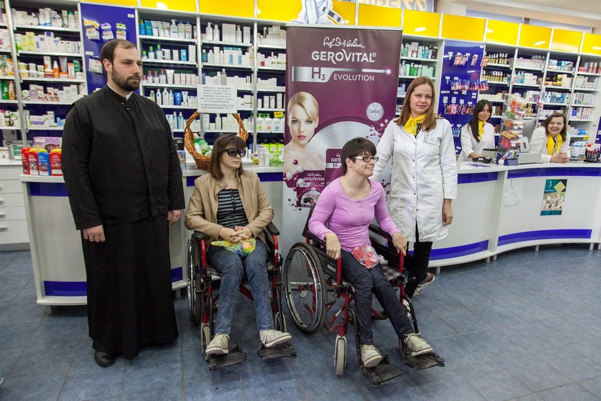 """Апотека """"Зегин"""", Удружење """"Чеп за хендикеп"""" и КСС"""