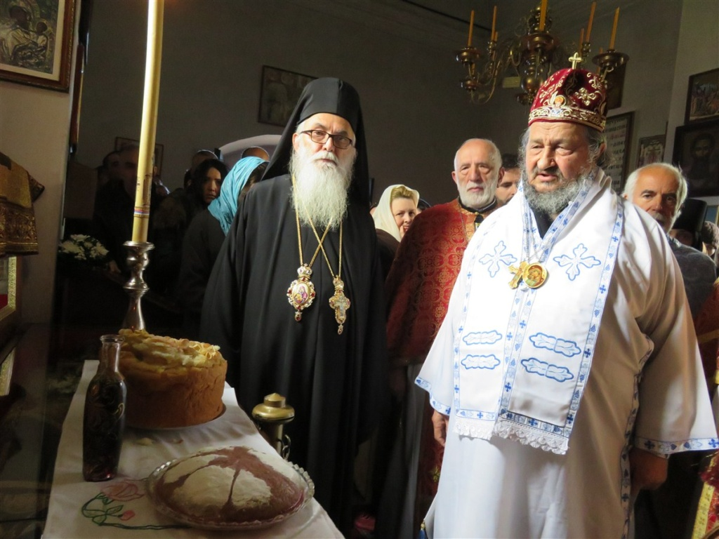 Благовештењска свечаност у манастиру Ћелије