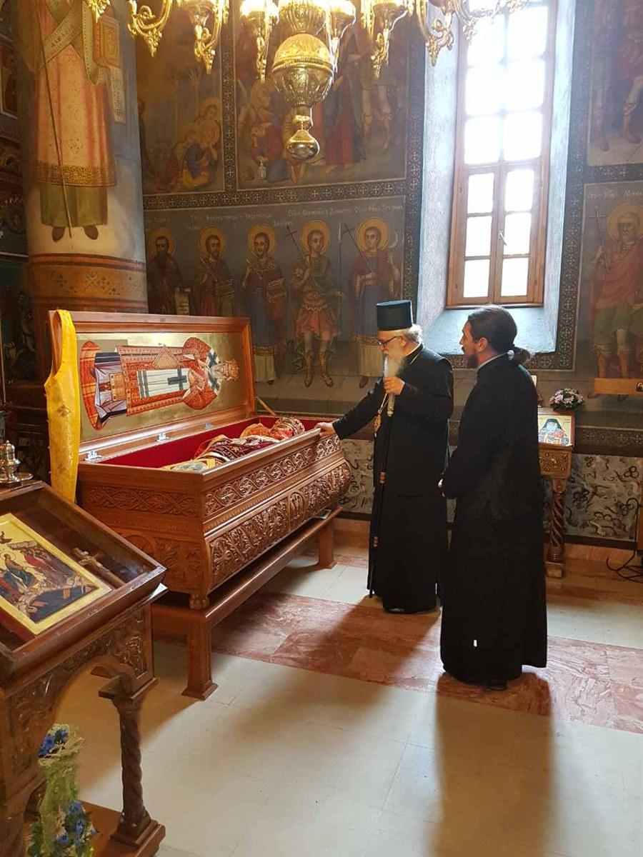 Васкршња посета манастиру Лелић и служење Пасхалног вечерњег