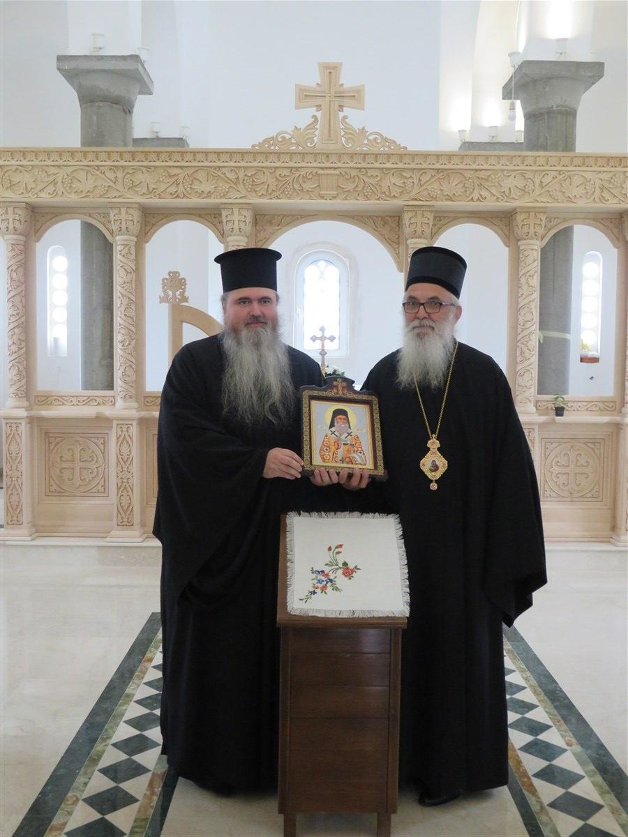 Митрополит неакрински и каламаријски Господин Јустин  у посети Епархији ваљевској