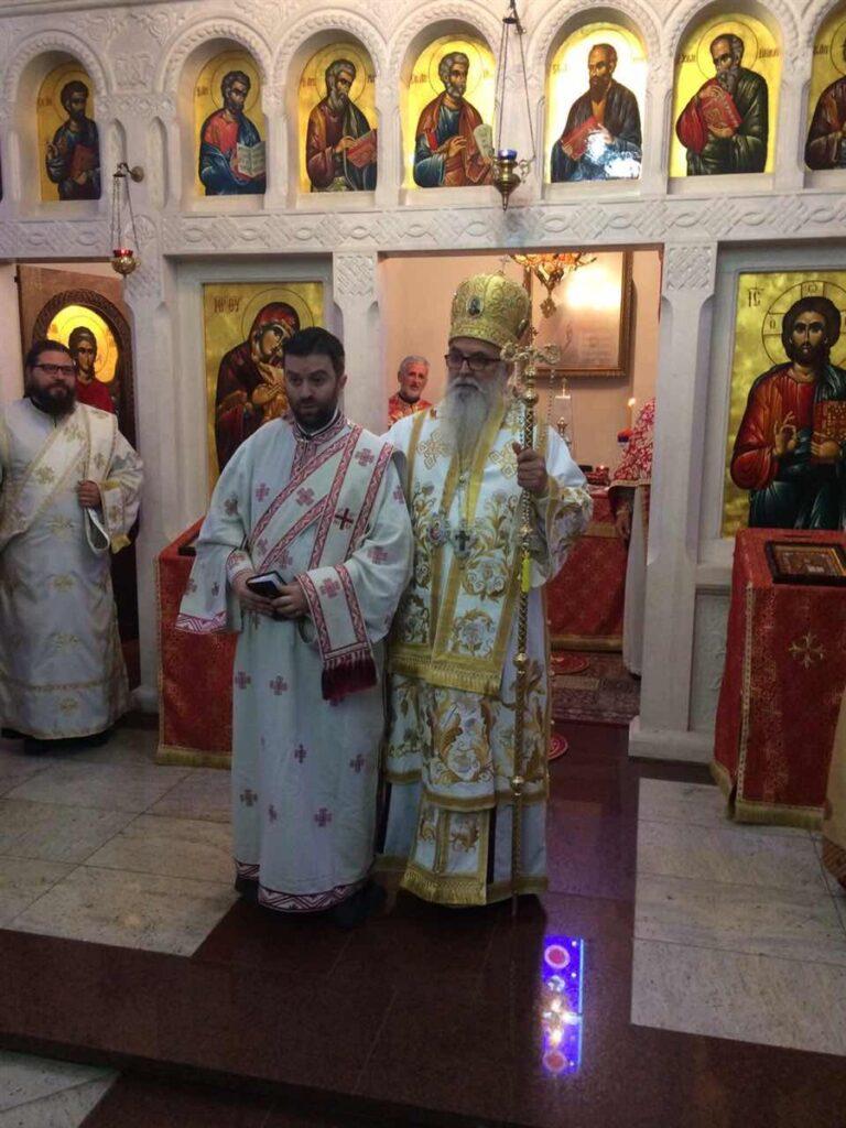 Владичанска Литургија и рукоположење у Храму Светог великомученика Георгија