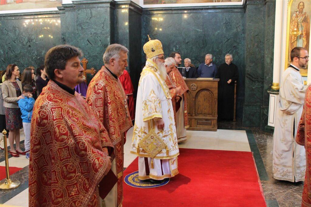 Епископ Милутин у Обреновцу
