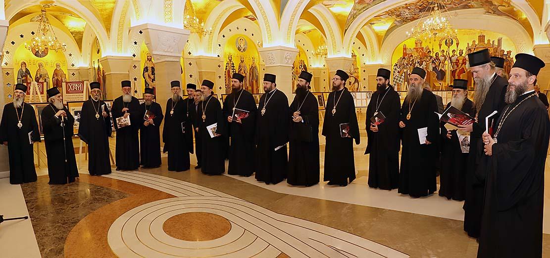 Преносимо: Поднети извештаји о току изградње храма Светог Саве и парастос (www.spc.rs)