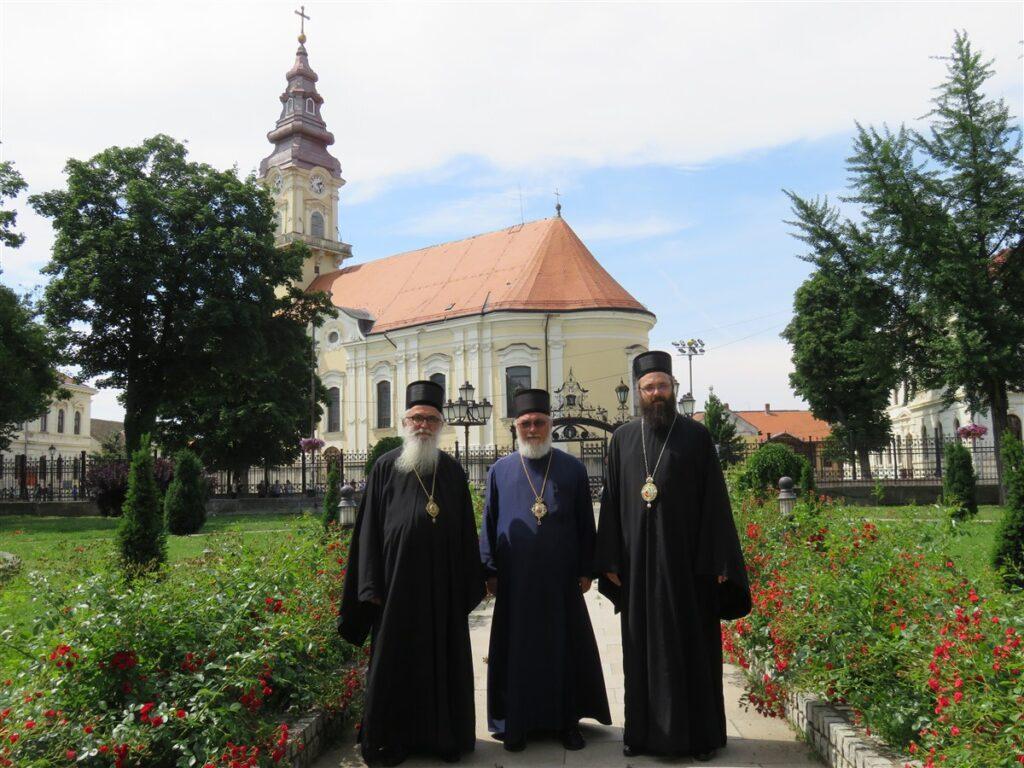 Посета Епископа Милутина и Епископа Силуана Епископу банатском Г. Никанору