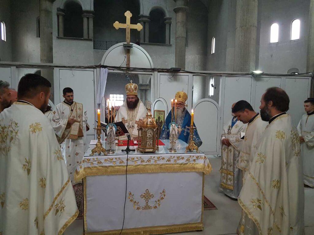 Света архијерејска литургија у Саборном Храму