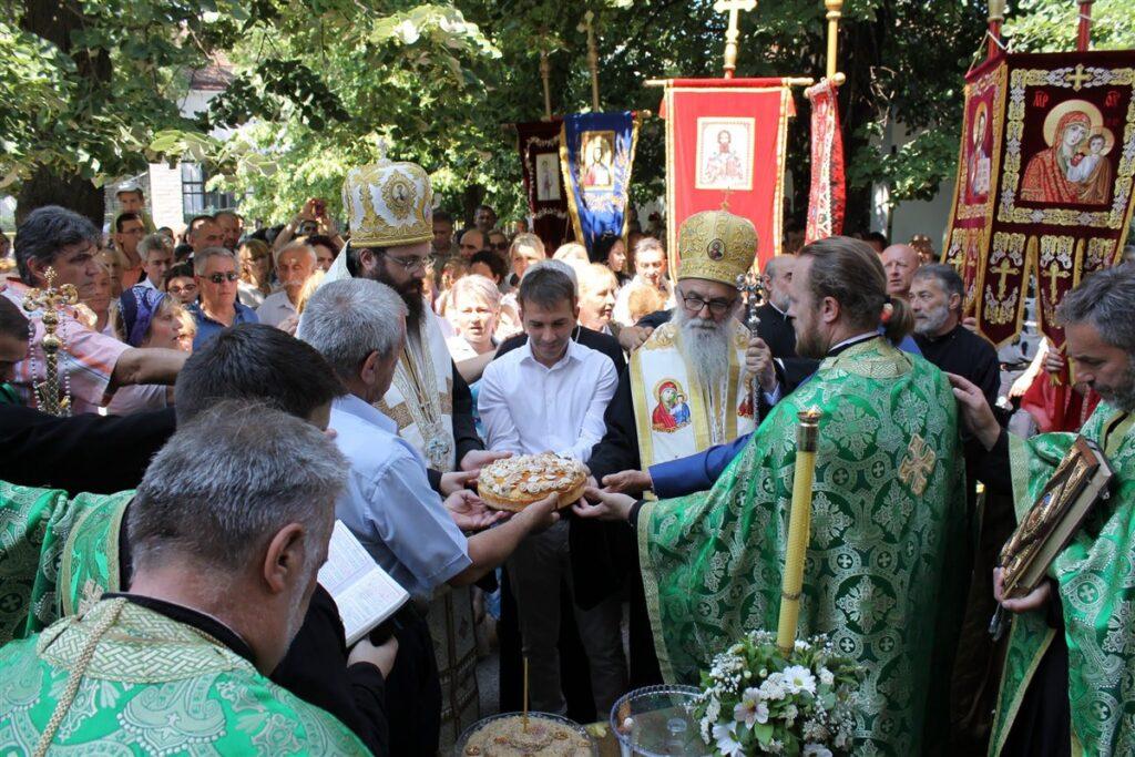 Величанствено сабрање у Обреновцу у част градске славе Силаска Светог Духа на апостоле