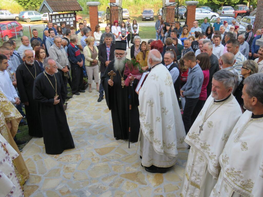 Прослављена братствена слава у Горњој Буковици