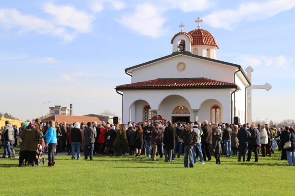 Храм Светог Нектарија Егинског у Ваљеву