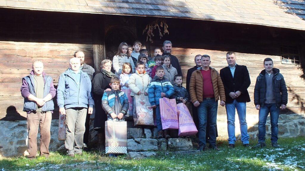 Помоћ ПНХЗ из Ваљева за сиромашне у Миличиници