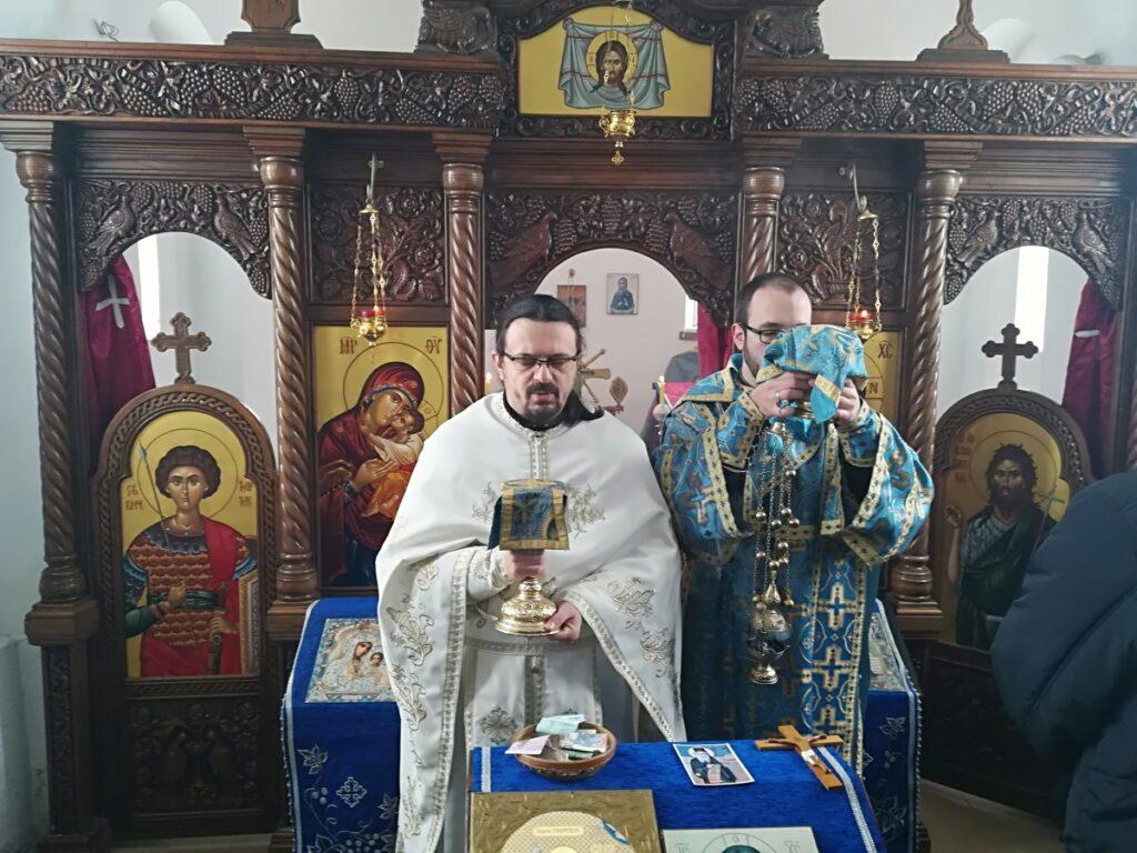 Света литургија и парастос старцу Никанору у цркви Светог Великомученика Георгија у Дивцима