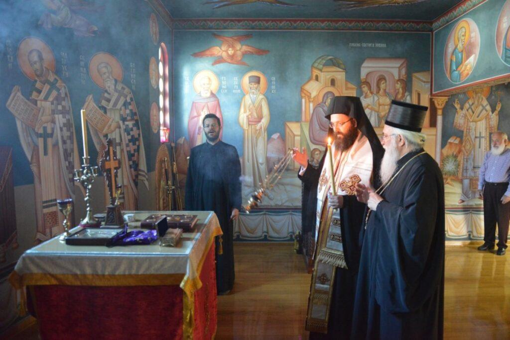 Мошти Светог Нектарија Егинског у Епархији ваљевској