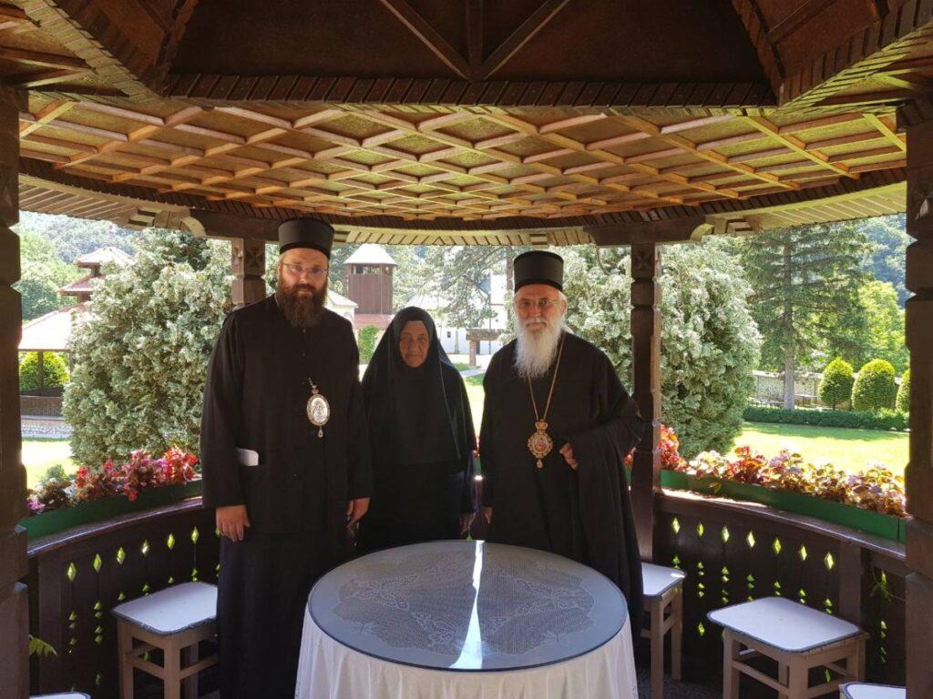 Епископи Милутин и Силуан посетили манастир Ћелије