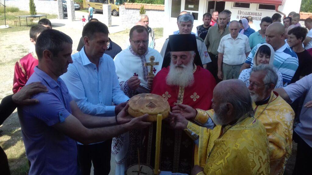 Прослава храмовне славе у манастиру Плужац