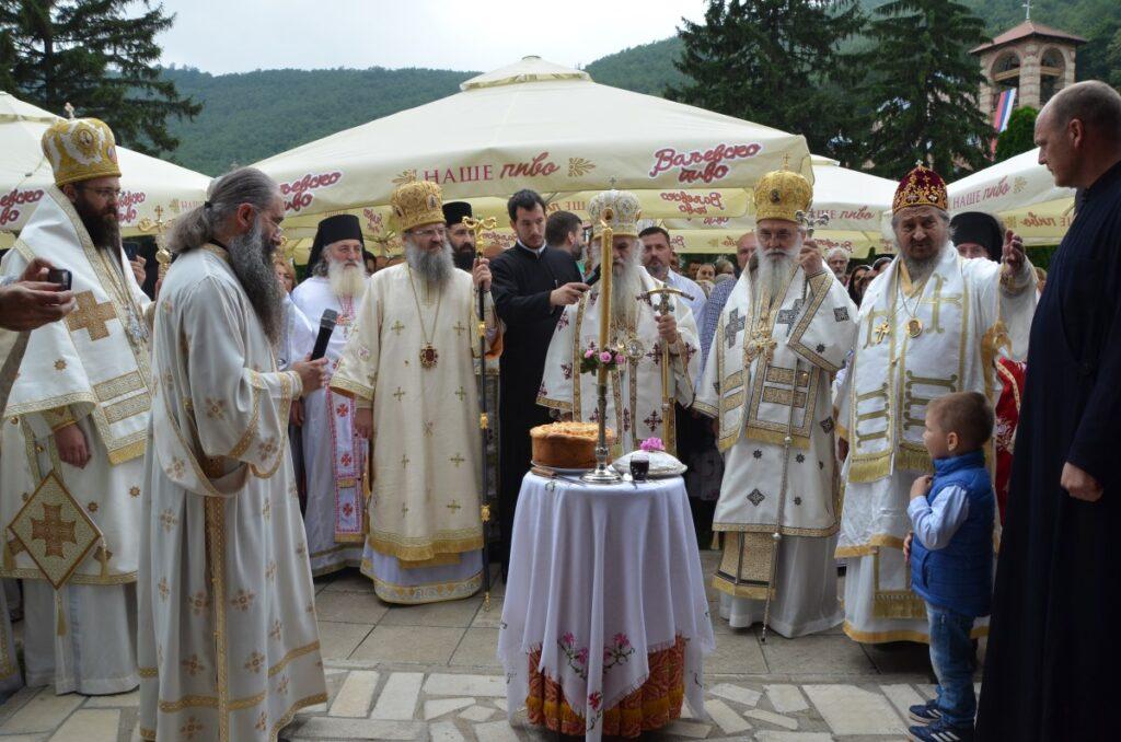 Празник Светог Оца Јустина у манастиру Ћелије