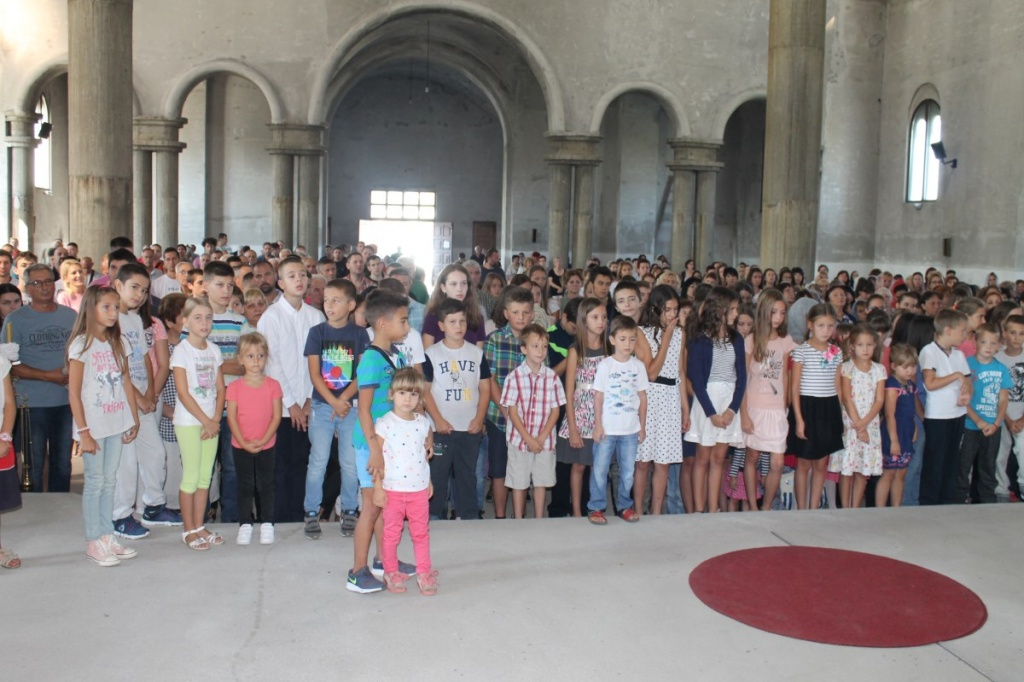 Служена Молепствија у Епархији ваљевској поводом почетка нове школске године