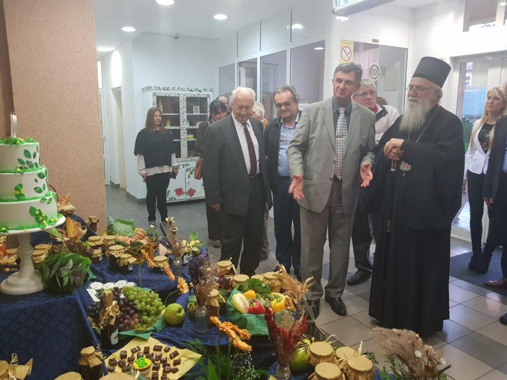 Епископ Милутин на прослави дана Пољопривредне школе