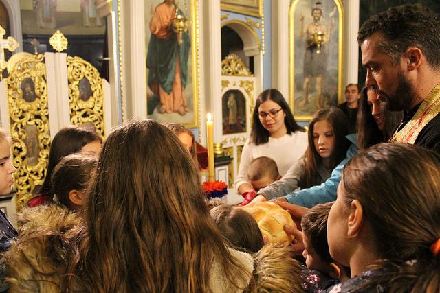Слава дечјег црквеног хора у Обреновцу