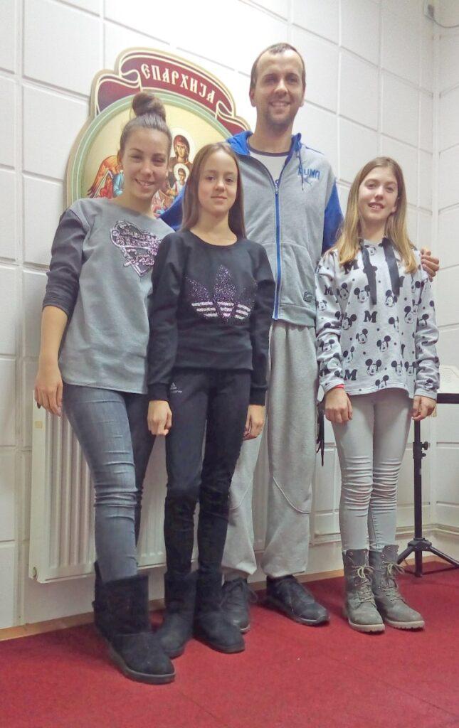 Милица, Сара и Маша о Божићу