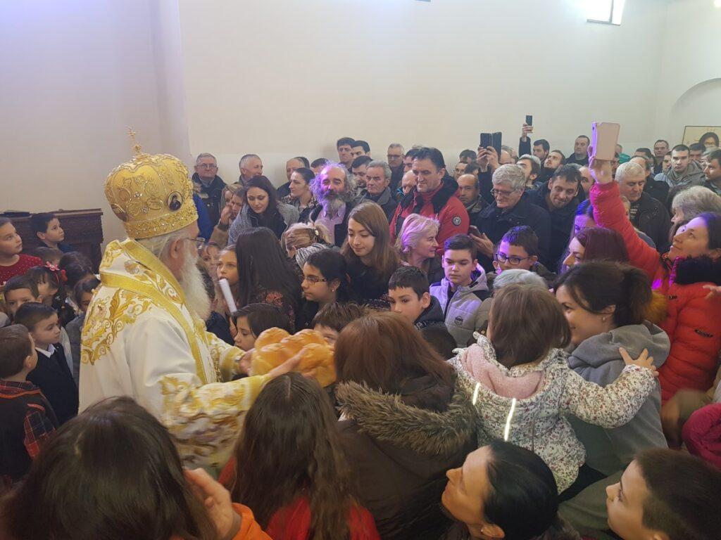 Владичанска Литургија у Храму Светог великомученика Георгија