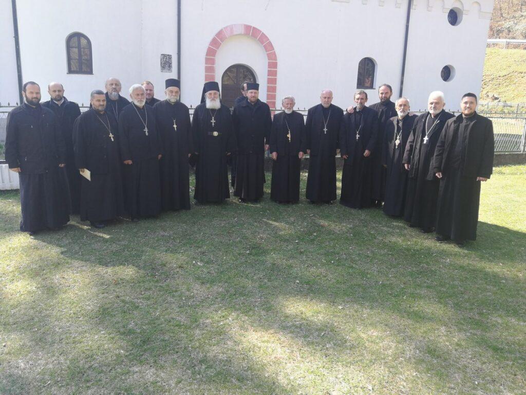 У Причевићу одржана исповест свештенства Архијерејског намесништва подгорског