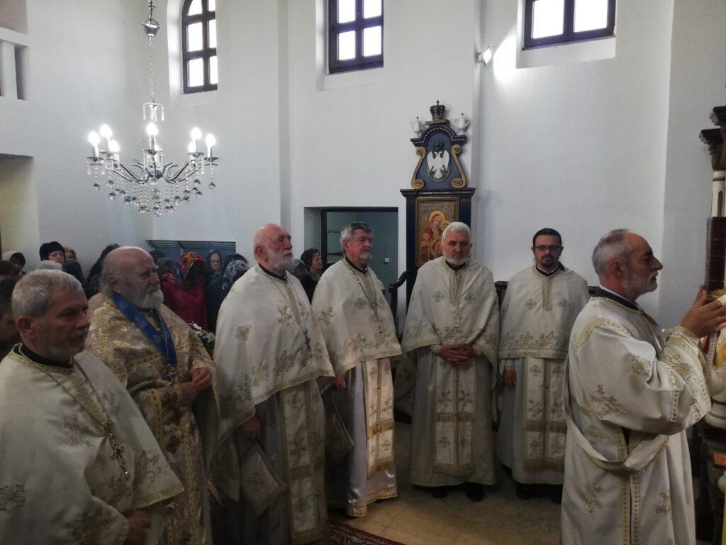 Капела на Новом гробљу прославила своју храмовну славу Лазареву суботу