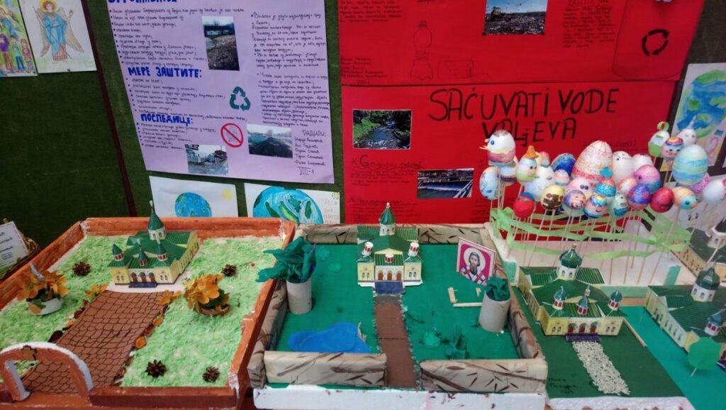 Изложба ученика Прве ОШ – Ваљево