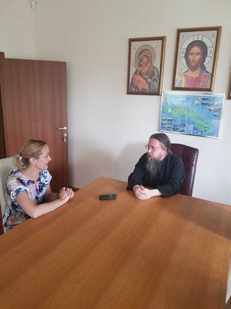 Интервју  архимандрит Доротеј (Форшнер)