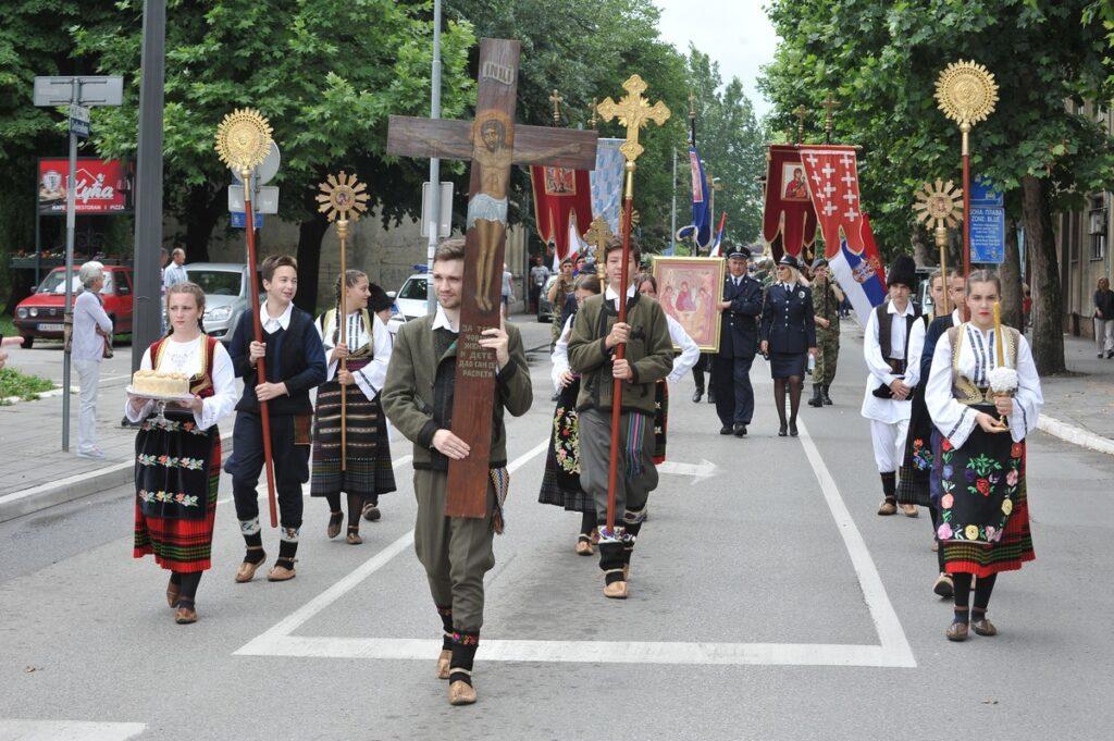 Град Ваљево прославио своју крсну славу – Духовски понедељак
