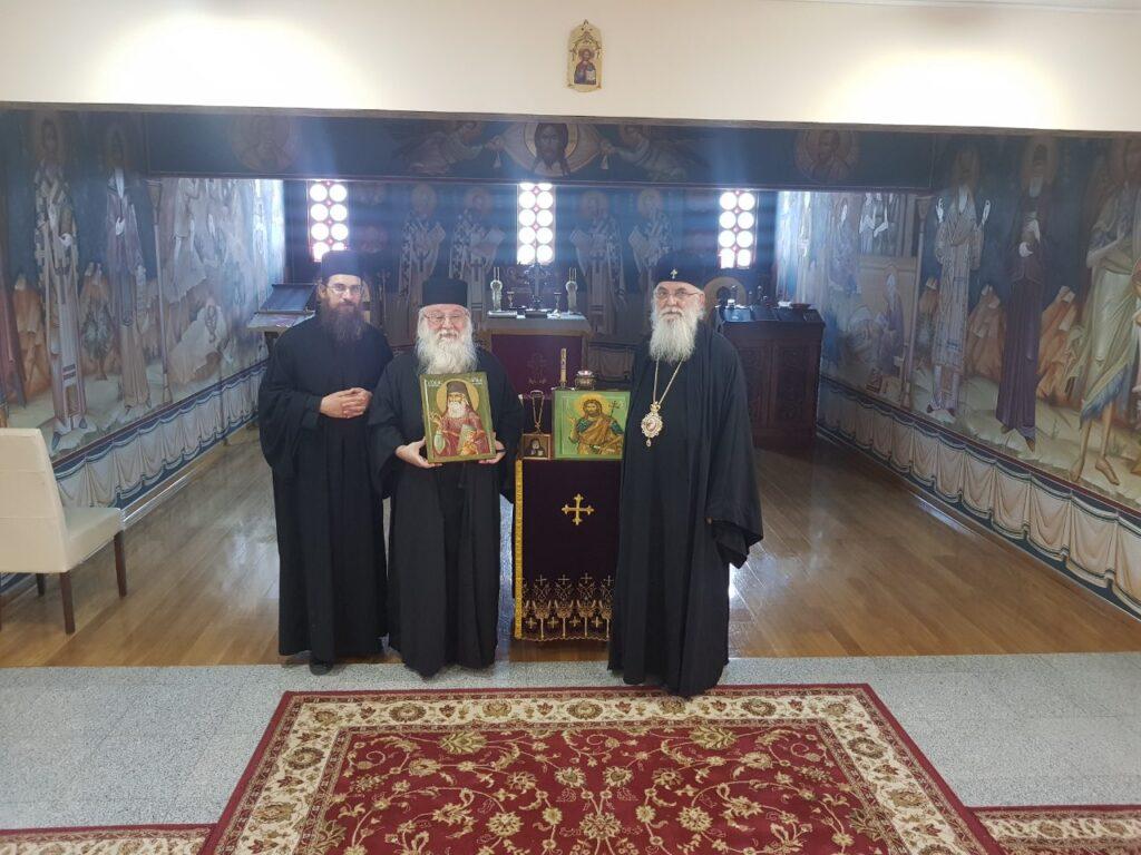 Епископ Милутин примио монахе из Грчке