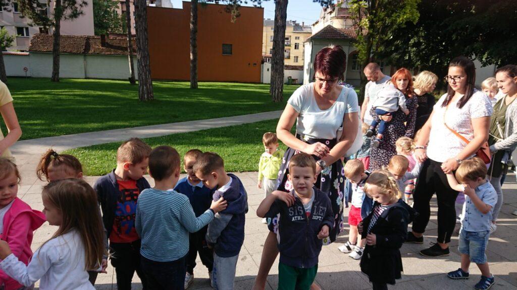 Причешће предшколаца на Петровдан