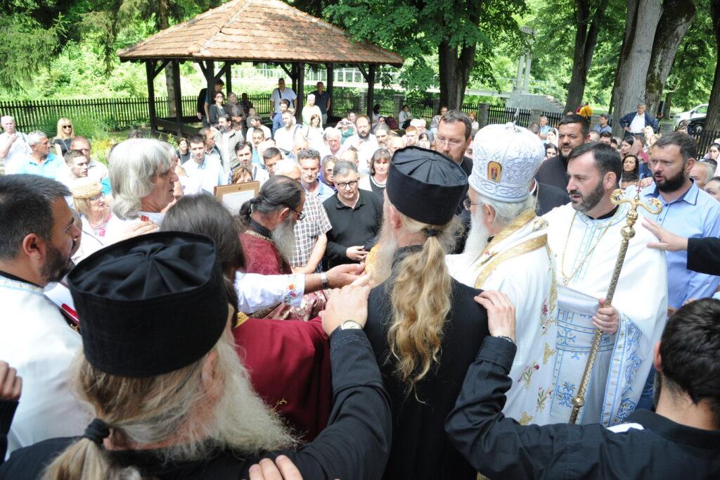 Братство манастира Рибница прославило своје небеске покровитеље Свете апостоле Петра и Павла