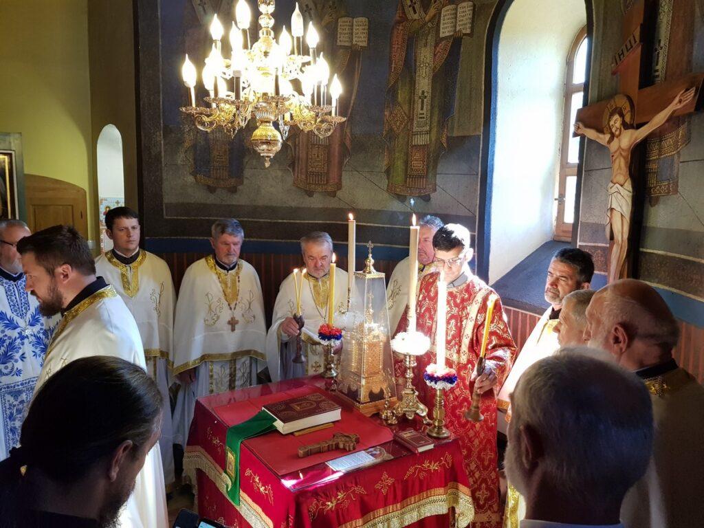 Преображењска светковина у манастиру Лелић