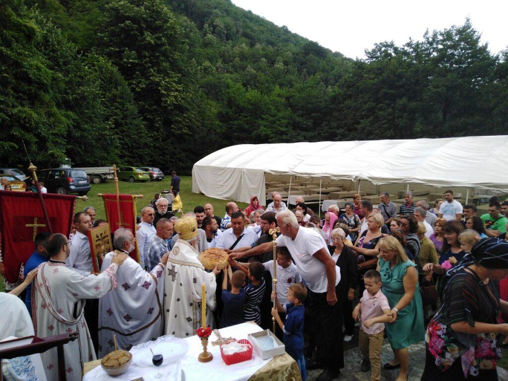 Беседа Владике Милутина на Илиндан, храмовну славу цркве у селу Ба 2019. године