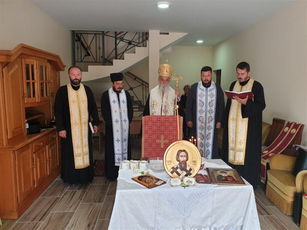Епископ Милутин осветио новоизграђени конак у манастиру Ћелије