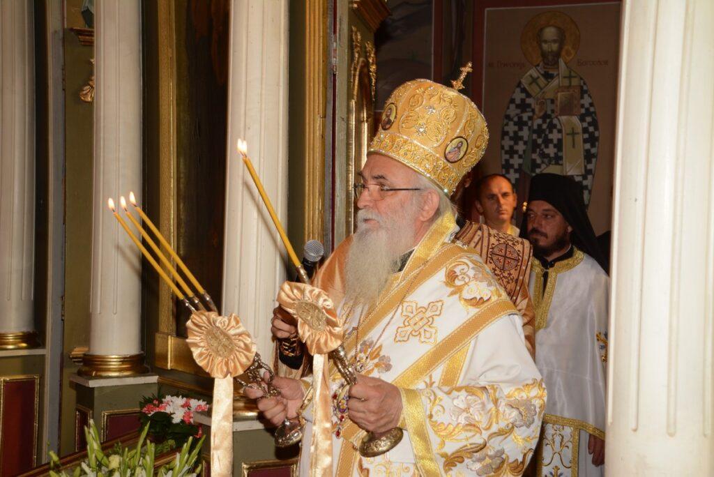 Велика свечаност у Храму Преноса моштију Светог Николаја Мирликијског у Врелу