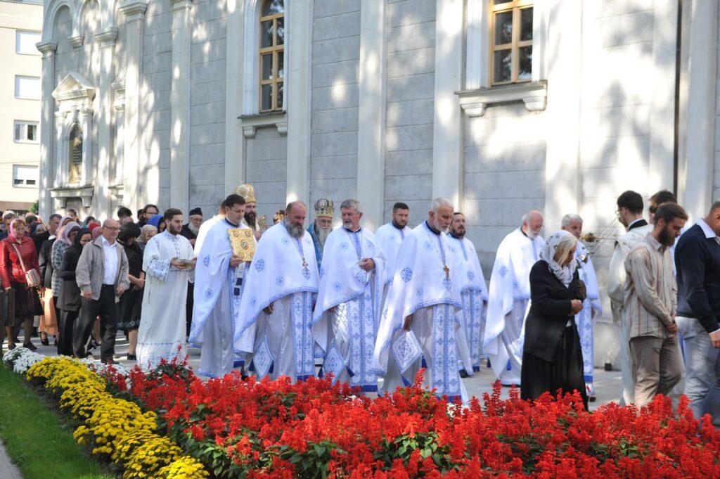 Славска свечаност у Храму Покрова Пресвете Богородице