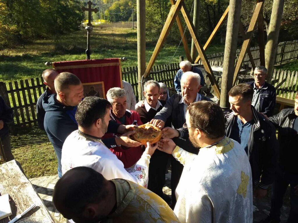 Слава цркве брвнаре у селу Планиница
