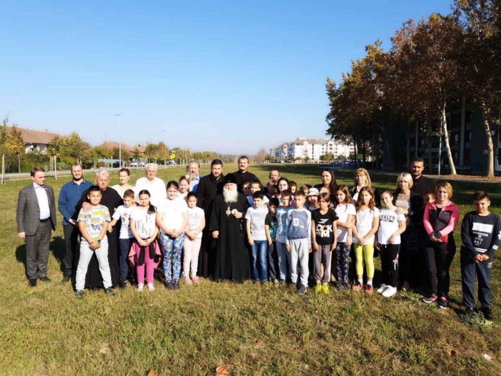 Митрополит Викентије у посети Убу и Обреновцу