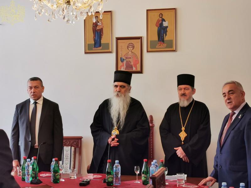 Похваљен рад духовника и подржана идеја о градњи храма у КПЗ Ваљево