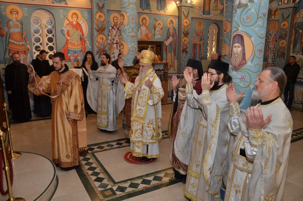 Молитвена подршка браћи архијерејима и свештенству у Црној Гори