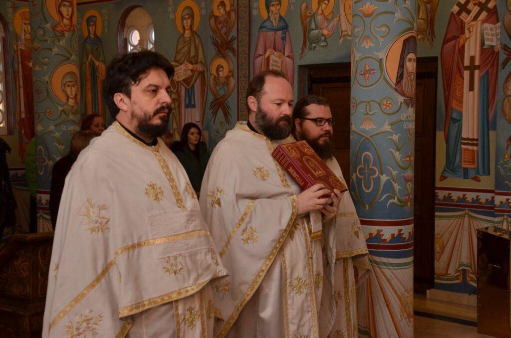 Молитва за браћу и сестре у Црној Гори у Храму Светог Нектарија
