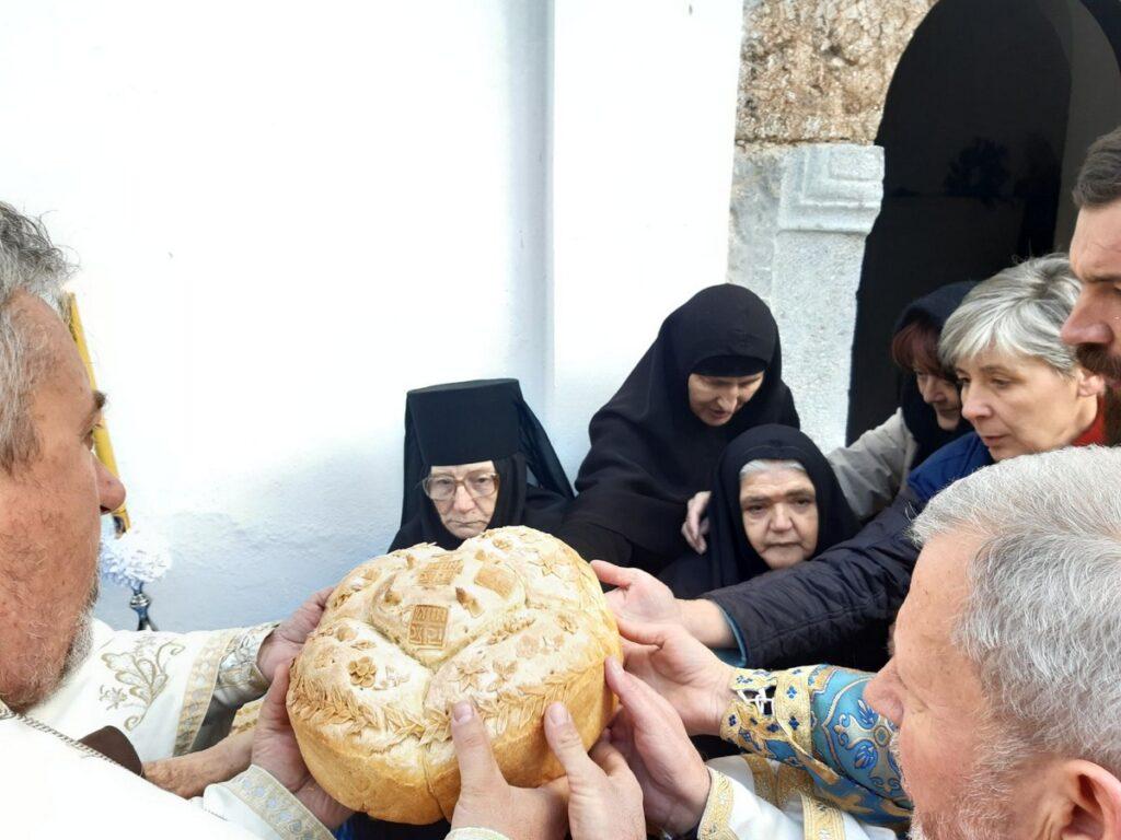 Ваведењска свечаност у манастиру Пустиња