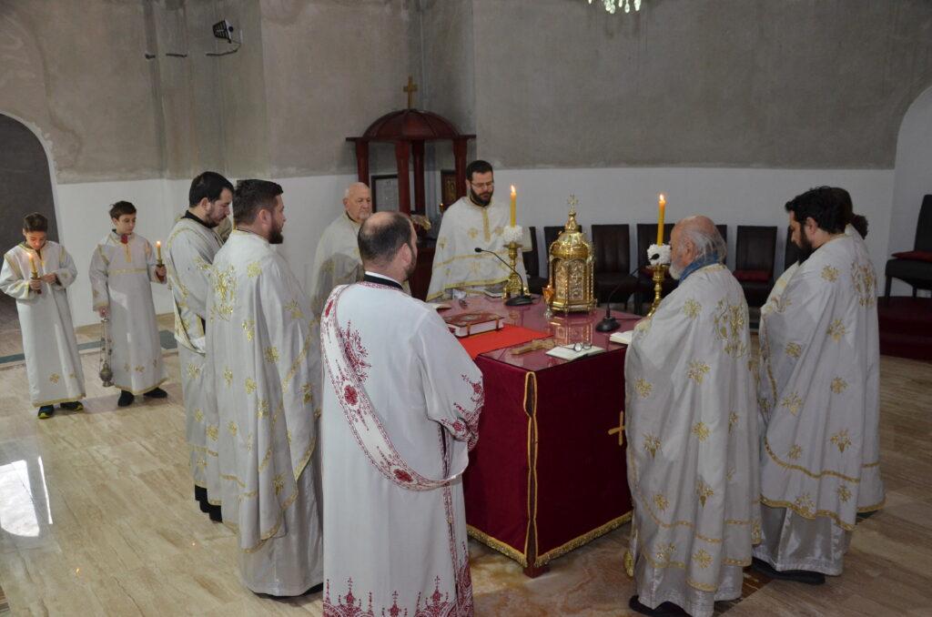 Прослава Светих Отаца у саборном храму у знаку подршке братској Црној Гори