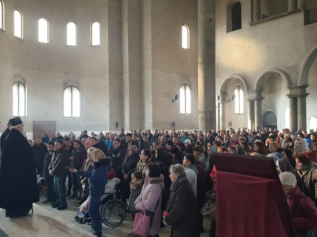 Епископ Милутин позвао верни народ на молебан и саборну литију за спас светиња у Црној Гори и на Косову и Метохији