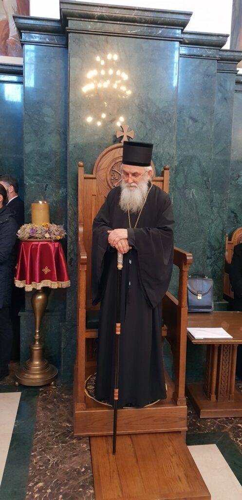 Владика ваљевски Милутин, манастир Пустиња